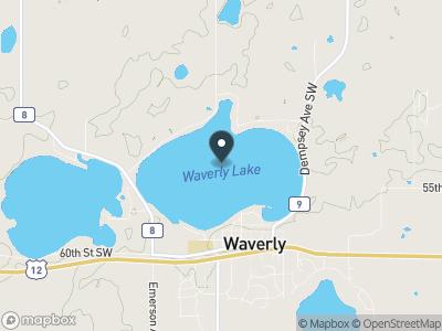 Waverly Lake Map