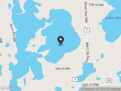 East Lake Sylvia Map
