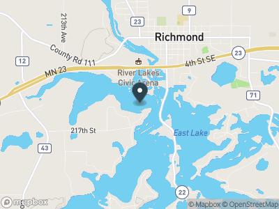 Becker Lake Map