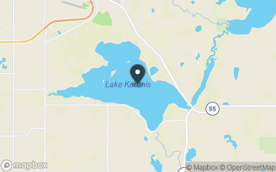 Lake Koronis Map