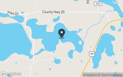 Little Pelican Lake Map