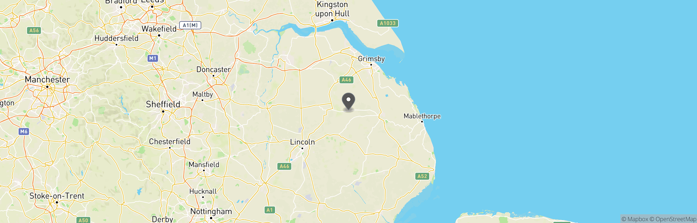 Location map of The Big One MK1
