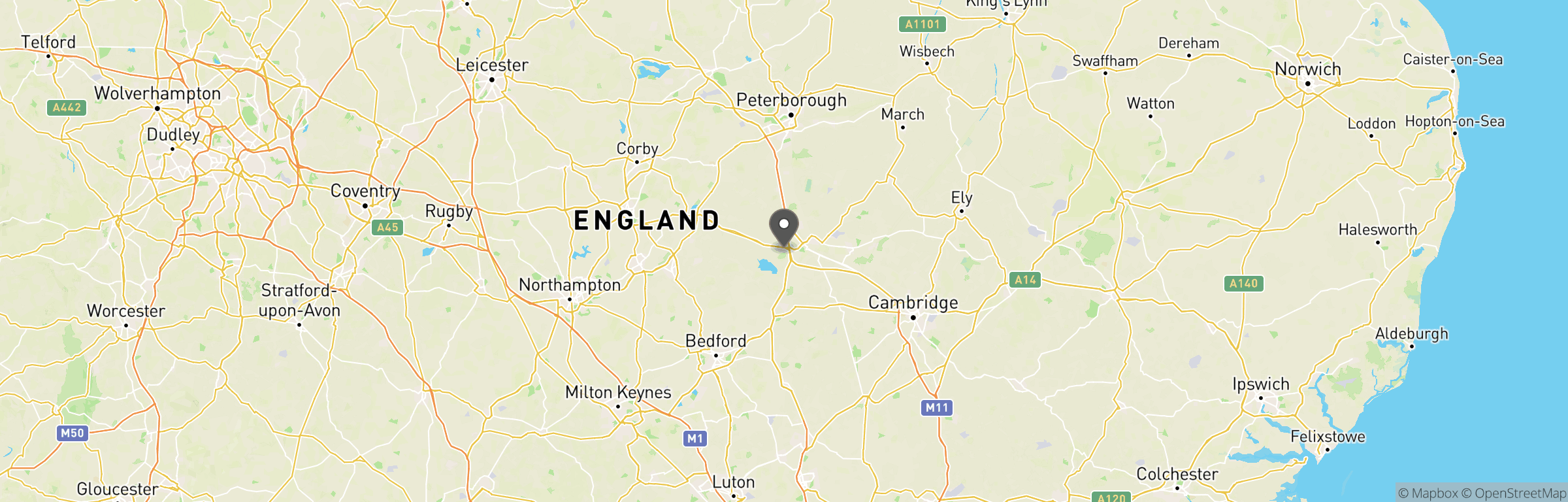 Location map of Maddog Airsoft