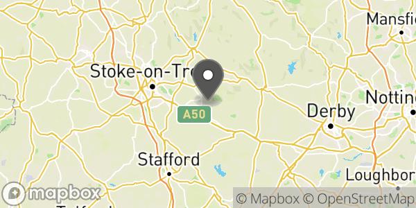 Location of West Midlands F.O.B.
