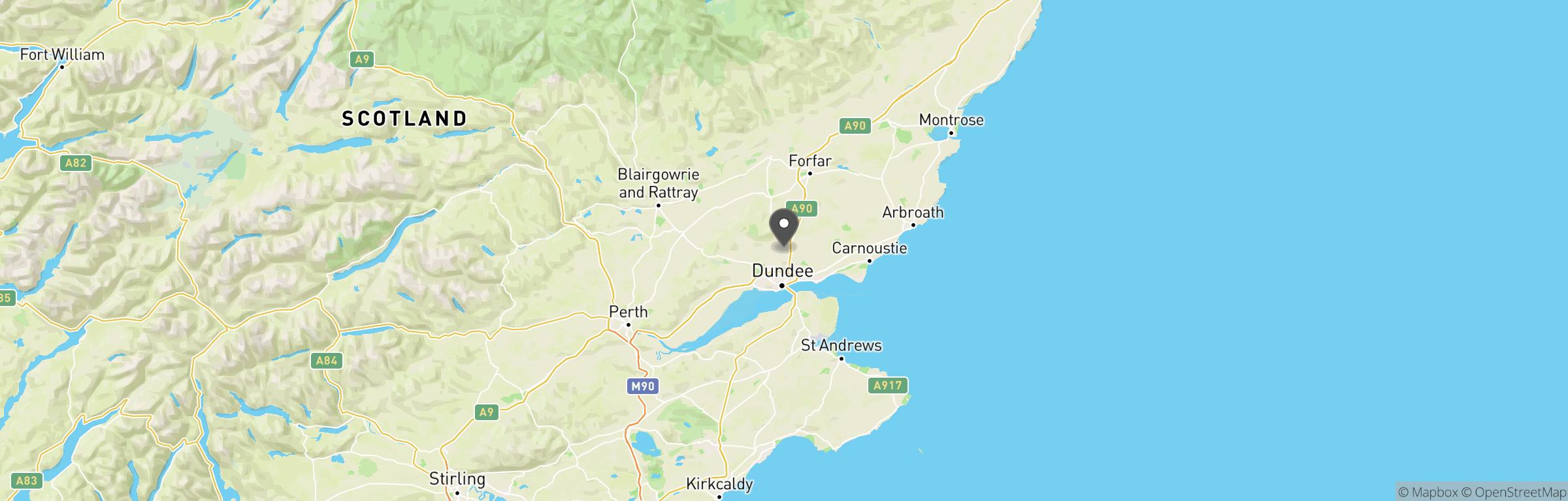 Location map of Viper Strike