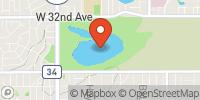 Crown Hill Lake Map