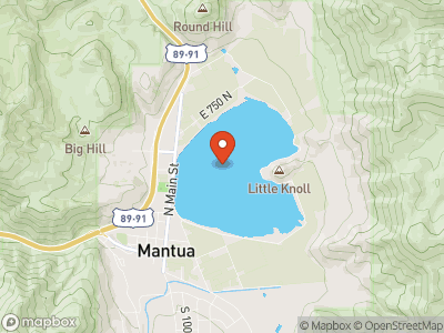 Mantua Reservoir Map