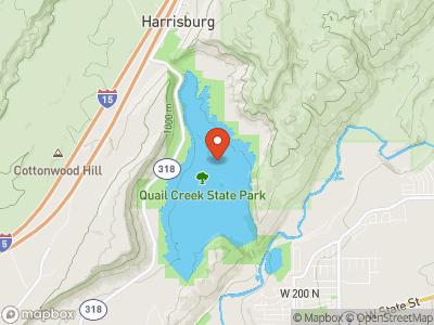 Quail Creek Reservoir Map