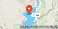 Gunlock Reservoir Map