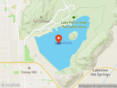 Perris Reservoir Map