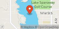 Spanaway Lake Map