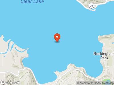 Clear Lake, CA Map