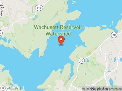 Wachusett Reservoir Map