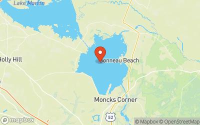 Lake Moultrie Map
