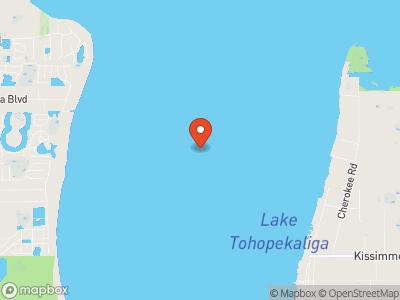 Lake Tohopekaliga Map