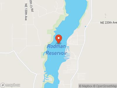 Rodman Reservoir Map