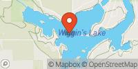 Wiggins Lake  Map