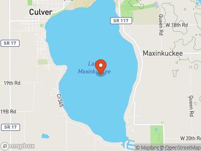 Lake Maxinkuckee Map