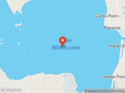 Lake Winneconne Map