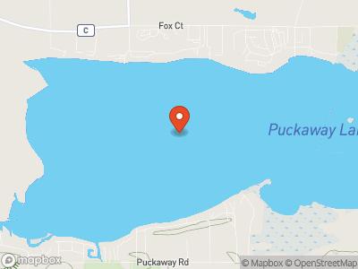 Puckaway Lake Map