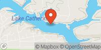 Lake Catherine Map