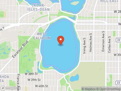 Lake Calhoun Map