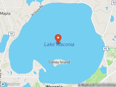 Lake Waconia Map