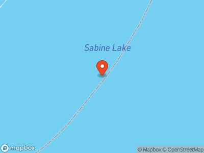 Sabine Lake Map
