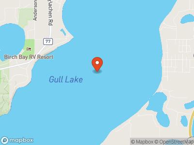 Gull Lake  Map