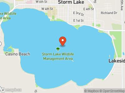 Storm Lake Map