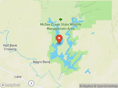 McGee Creek Map