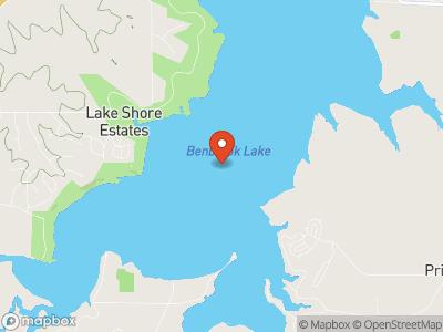 Benbrook Lake Map
