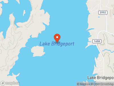 Lake Bridgeport Map