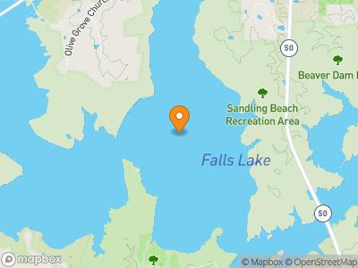 Falls Lake Map