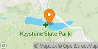Keystone Lake Map
