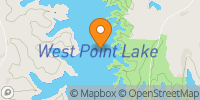 West Point Lake Map