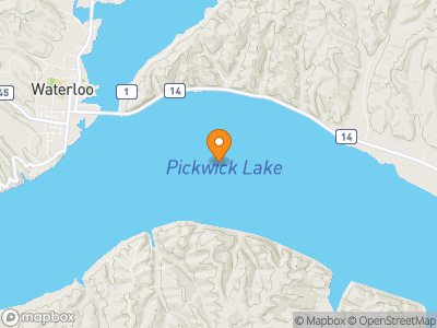 Pickwick Lake Map