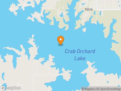 Crab Orchard Lake Map