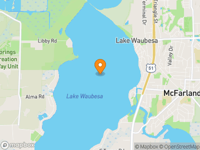 Lake Waubesa Map