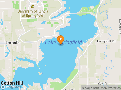 Lake Springfield Map
