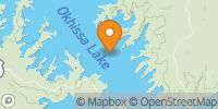 Okhissa Lake Map