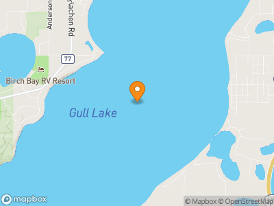 Gull Lake (MN) Map