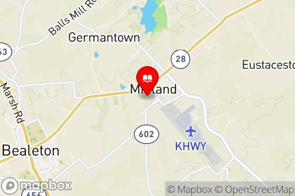 Mapbox Map of -77.726480,38.597115