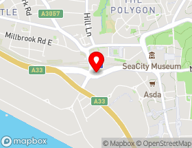 Map of Proper Clean Carpet Cleaning Southampton