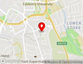 Map of Air Care Coventry