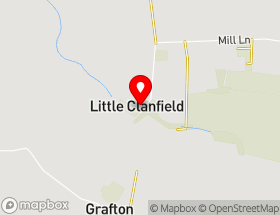 Map of Clanfield Gutter Repairs