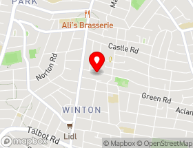 Map of Wessex Glazing & Building