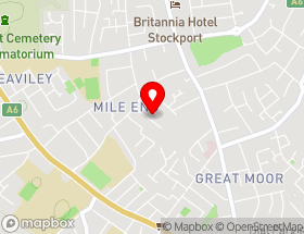 Map of Riks Fencing Stockport