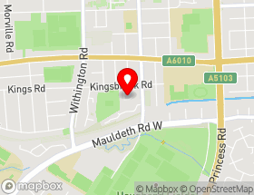 Map of Manchester Electrical Inspections