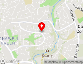 Map of Nicola Roofing Services